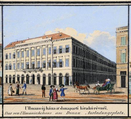Ulmann ház a Dunaparton