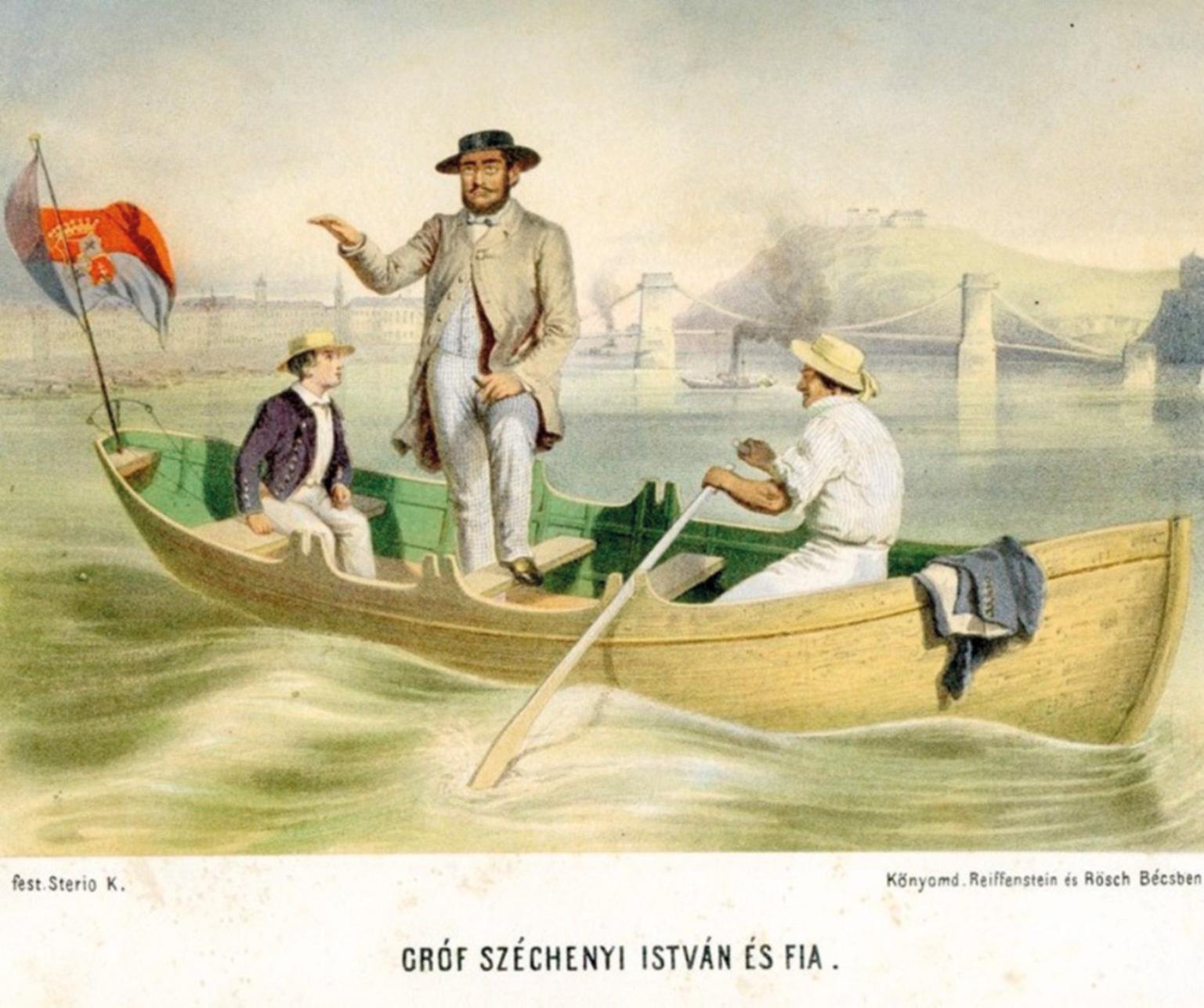 Széchenyi István és fia