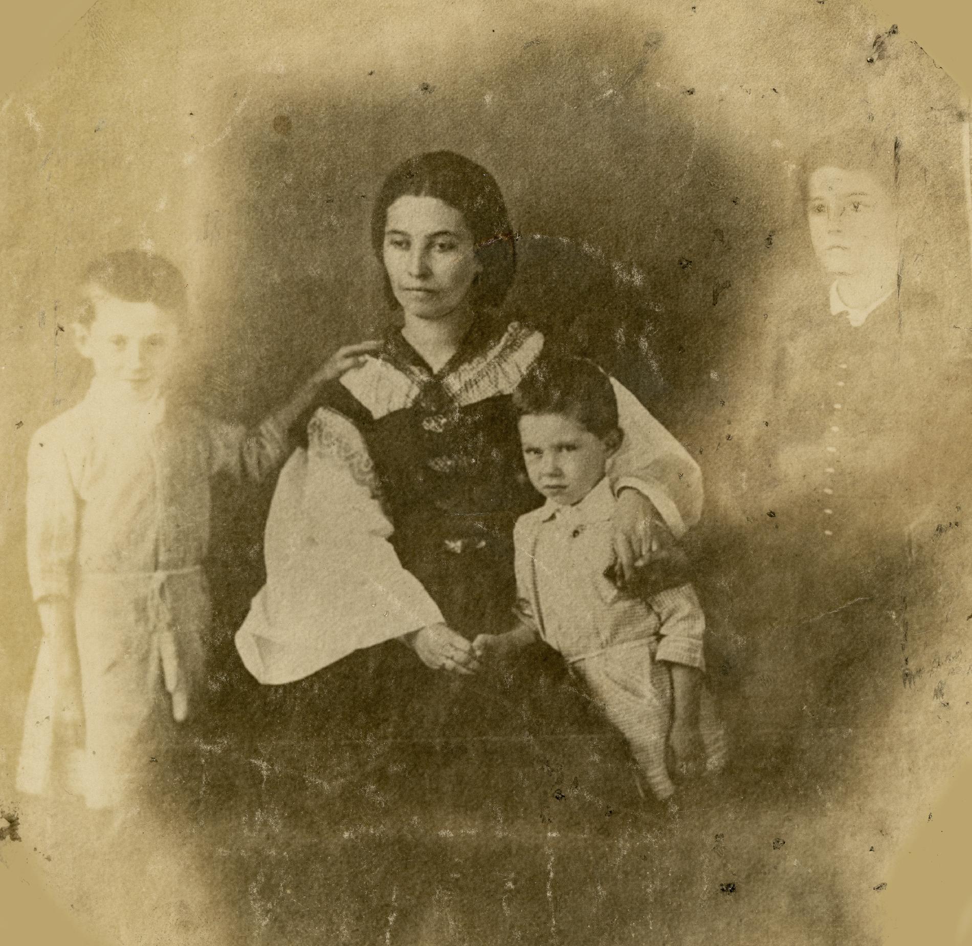 Családi fotó 1857-ből