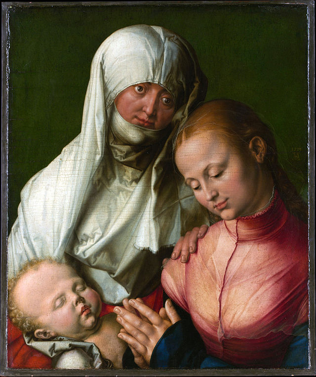 Albrecht Dürer festménye, 1519.