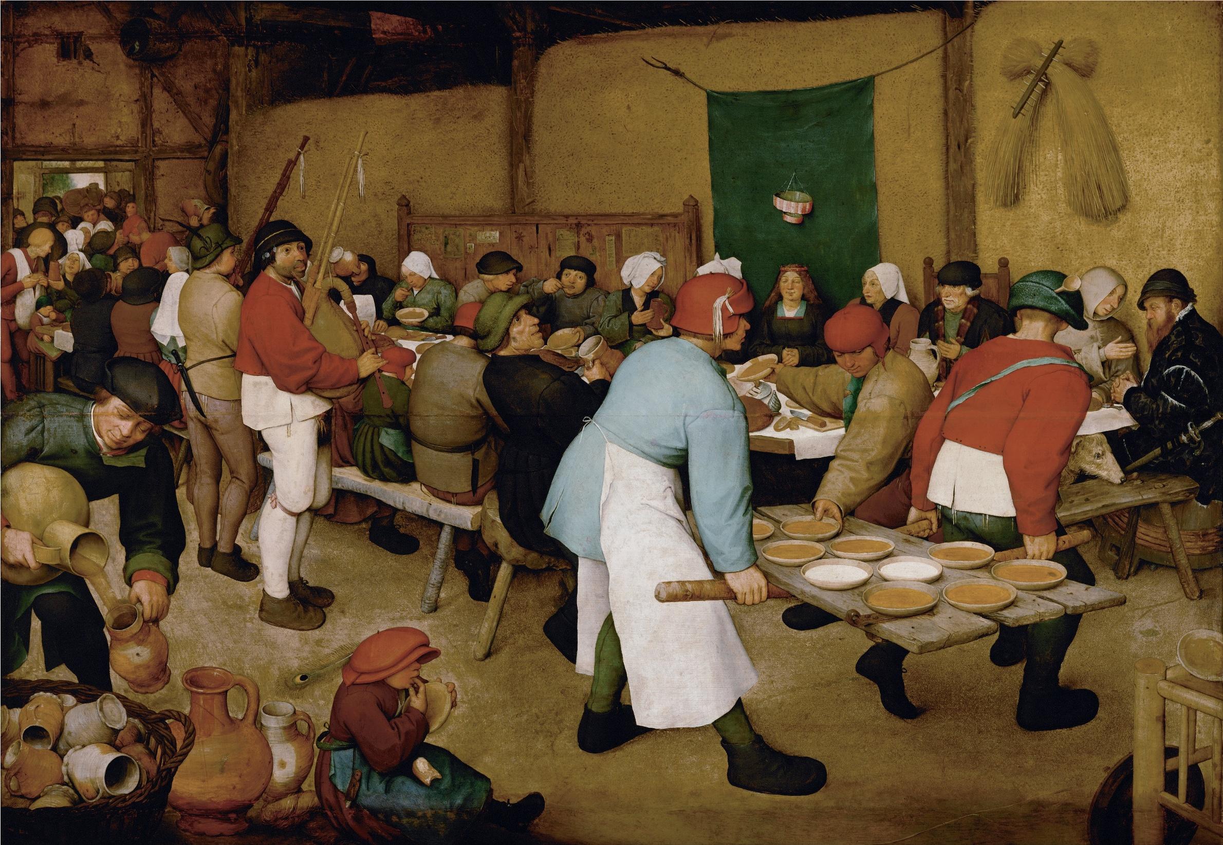 Id. Pieter Bruegel: Parasztlakodalom