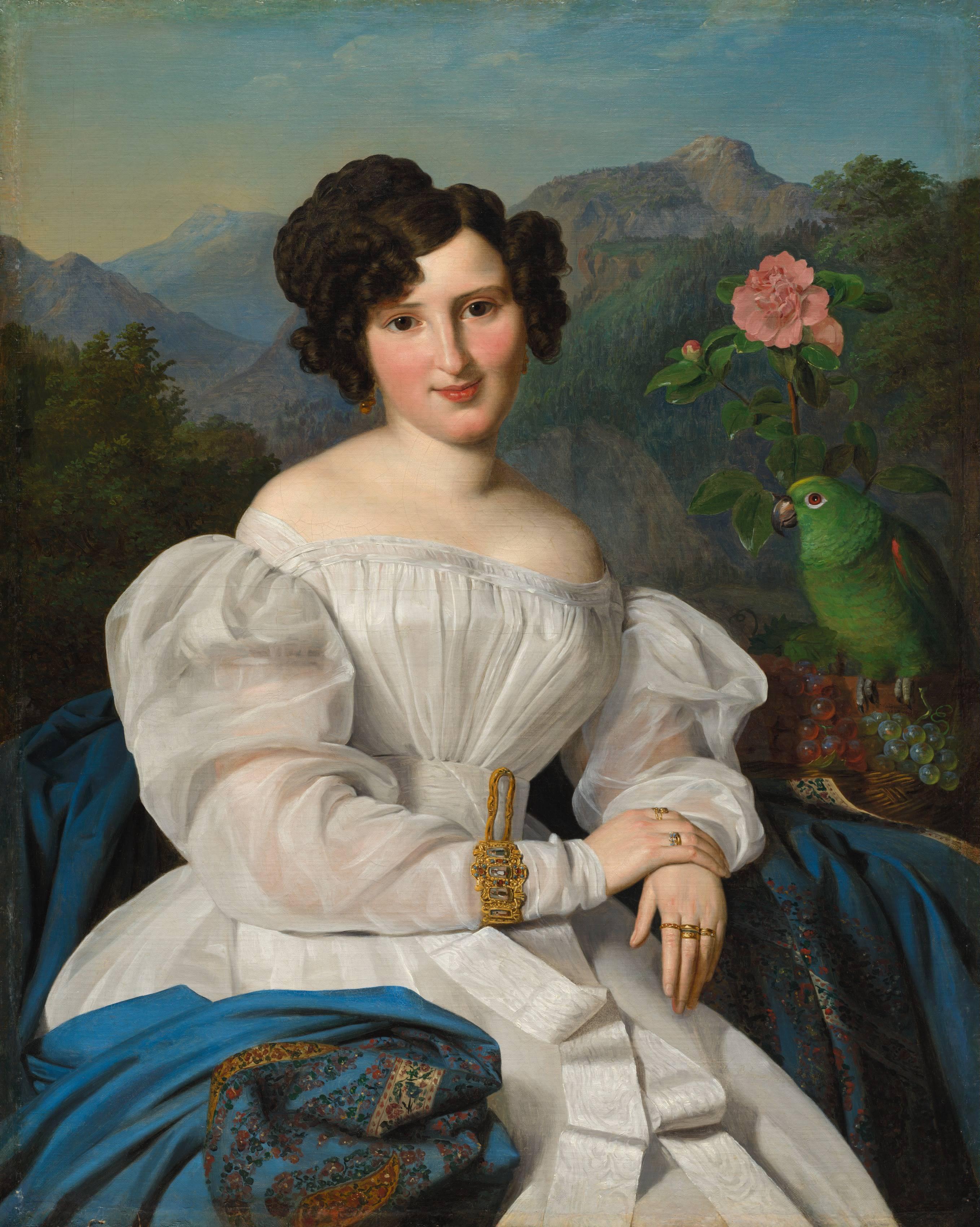 F. G. Waldmüller: Seilern Crescence grófnő, 1828.