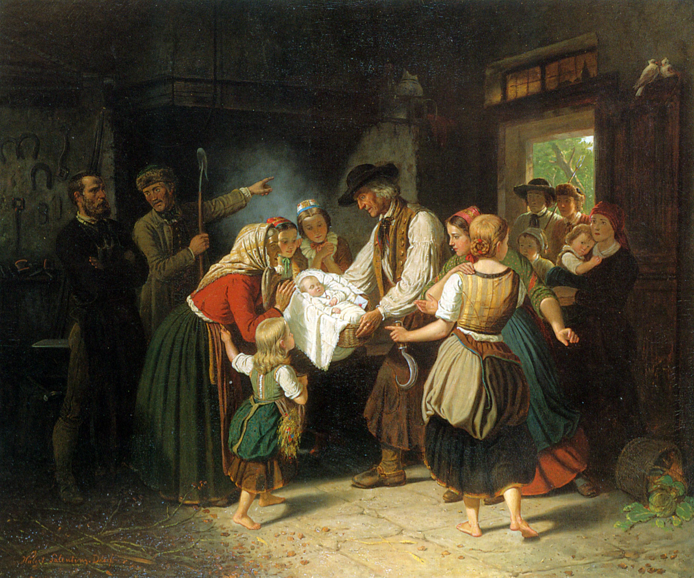 Hubert Salentin: A talált gyerek