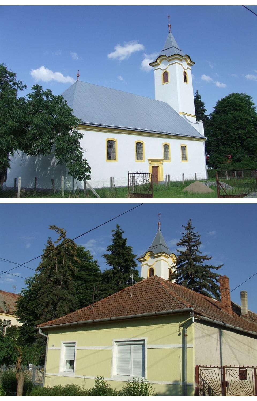 Olaszliszka reformatus templom és paplak