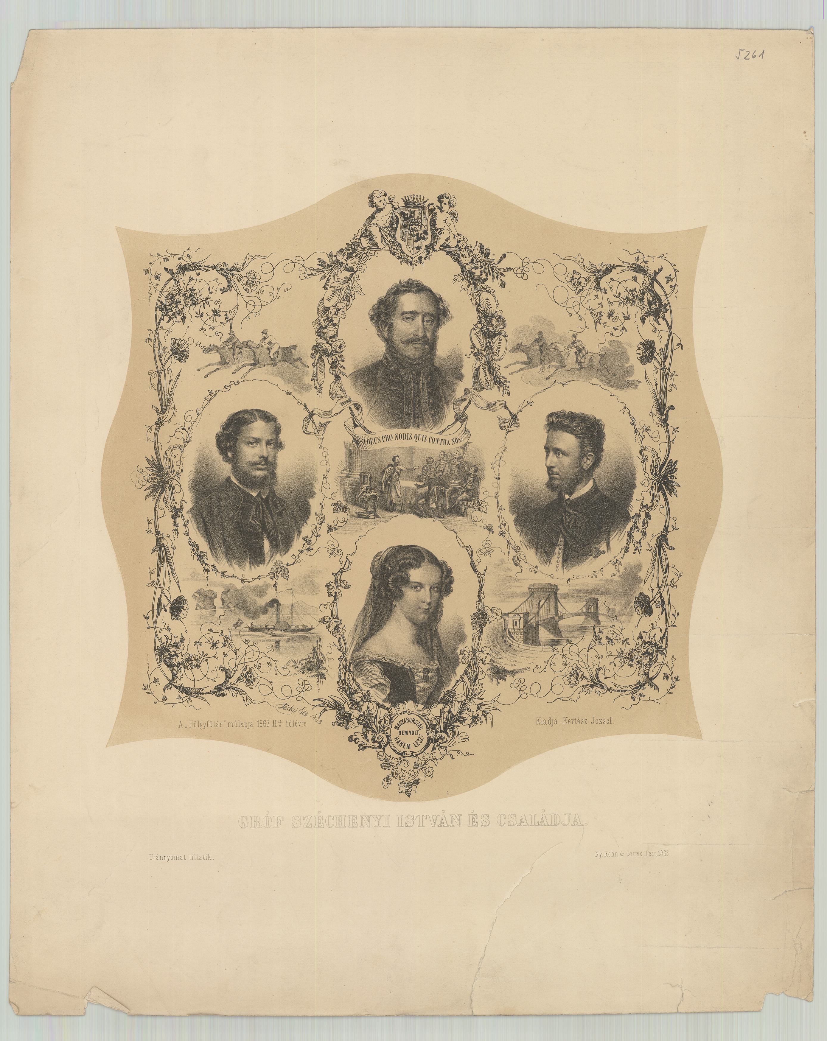 A Széchenyi család tablója