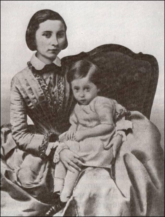 Szendrey Júlia és Petőfi Zoltáng