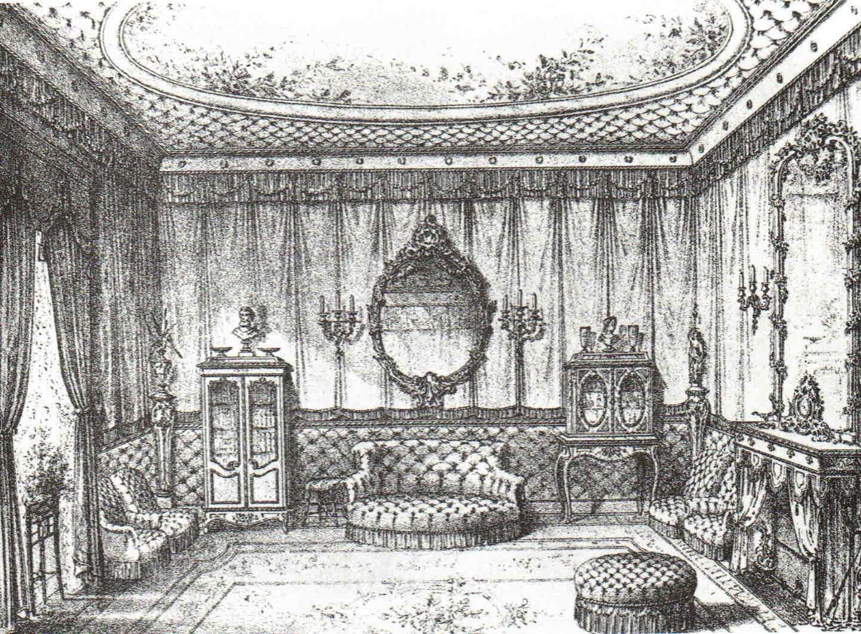Női szoba - a felső középosztály lakásideálja.