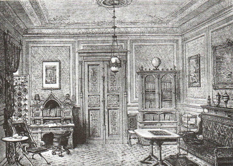 Férfi szoba - a felső középosztály lakásideálja.2